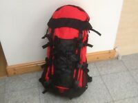 Large rucksacks available-50 litre to 70litre- a few available-used lightly -excellent condition