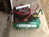 Air compressor needs attention it comes with a new air pump it's never been used