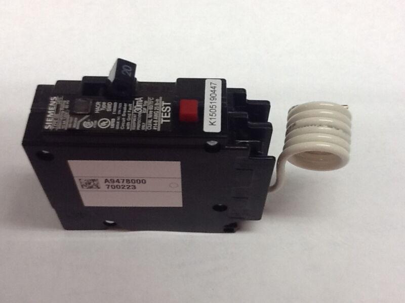 Siemens 20 amp GFEP circuit breaker