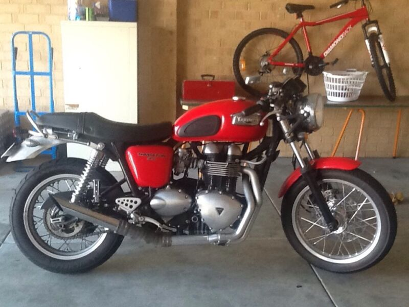Triumphs For Sale Australia Triumph Thruxton For Sale