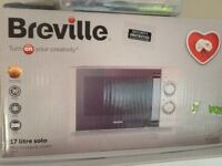 Breville microwave oven for sale in original box
