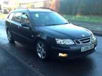 2006 Saab 93 vector Tid estate long mot parking sensors service history hpi clear Bargain!!!!
