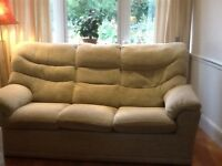 G Plan Sofa, 2 Seater, 3 Seater and Reclining Chair