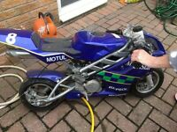 Liquid cooled mini moto