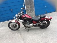 YAMAHA XV125 VIRAGO.R REG LOW MILES with v5