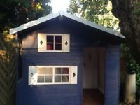 Double storey playhouse