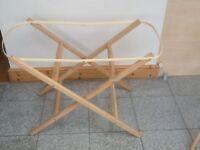 Moses basket stand £5-used lightly and in excellent condition