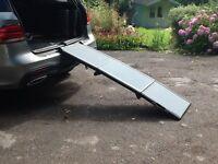 Heavy duty dog ramp