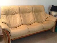 """HJELLEGJERDE FJORDS """"Northern Comfort"""" Leather Furniture"""