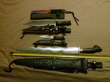 KNIVES    TRAINING/DISPLAY  starting at $30 Cassowary Coast Preview