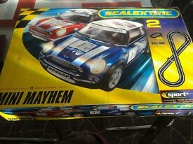 Mini Mayhem Scalextric Set