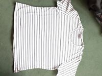 Ladies plus size 22 designer cotton+elastane Peter Hahn tops UNWORN Perfect