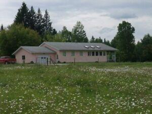 32 acre farm in Quesnel bc