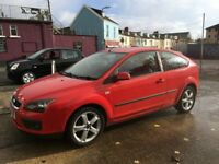 Ford Focus Zetec Climate covered only 71k long mot just been serviced great condition inside & out