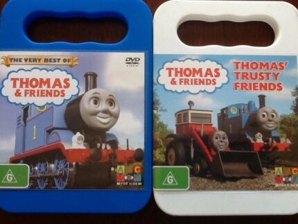 Thomas the Tank Engine DVD's, The very best & Trusty Friends