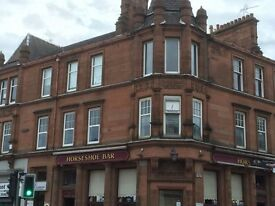 EXCEPTIONALLY LARGE TWO BEDROOM FLAT TO RENT IN MOTHERWELL TOWN CENTRE