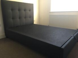 DFS Double Bed Storage Frame with mattress for sale. EXCELLENT condition