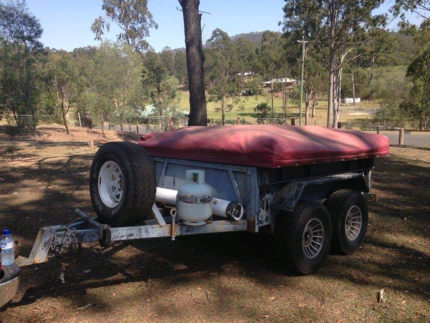 Duel axle camper trailer Caboolture South Caboolture Area Preview