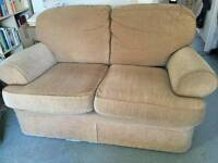 Sofa. 2 seaters and arm chair for free!!!