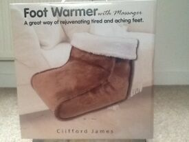 Clifford James foot warmer and massager
