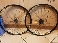 Mavic crossmax wheel set