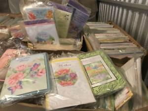 Wholesale Lots of Greeting Cards - 17,000 Greeting Cards per pallet