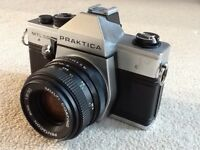 Praktica ml50 35mm film camera and 50mm lens