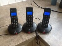 Triple pack house phones