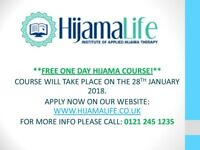FREE HIJAMA CUPPING THERAPY COURSE ON THE 28TH JANUARY!