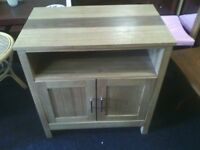 Small wooden cabinet suitable for living or dining room