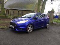 2014 FORD FIESTA st turbo ST2 sat nav, cruise only 34,000 miles