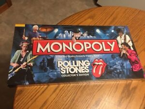 The Rolling Stones Monopoly in a sealed box