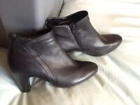 Gabor black ankle boots
