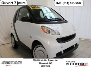 2011 Smart Fortwo PURE AUT AC GROUPE ELECT BAS KM BELLE CONDITIO