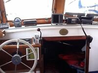 Tamar 2000 Motor Boat, 1980 build with Beta 35 engine, Garmin Chartplotter, Icom VHF, Good Condtion