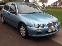 2003 Rover 25 1.4l long mot 1 owner 2 x keys BARGAIN!!!!