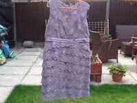 Jacques vert dress size 20 with hat