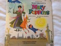 Walt Disney Mary popping vinyl Lp ,slight rip on back cover