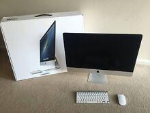 "LIKE NEW Apple 2013 iMac 27"" 3.4GHz i5 8GB RAM 1TB HHD Melbourne CBD Melbourne City Preview"