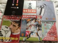 Manchester United special programmes