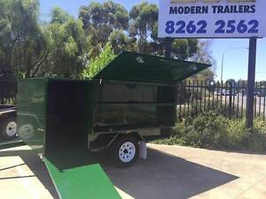 7x5 Heavy Duty Single Axle Lawn Mower Trailer Braked Mid Murray Preview