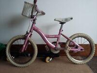 Girls Bicycle 4-6 years