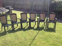 Patio Chairs x 6