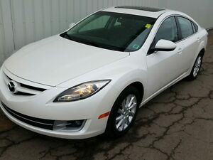2013 Mazda Mazda6 GT-I4 SOLID FUEL ECONOMY AND LEATHER INTERI...
