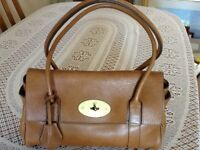 Ladies Mullberry Tan Leather Handbag - Good condition