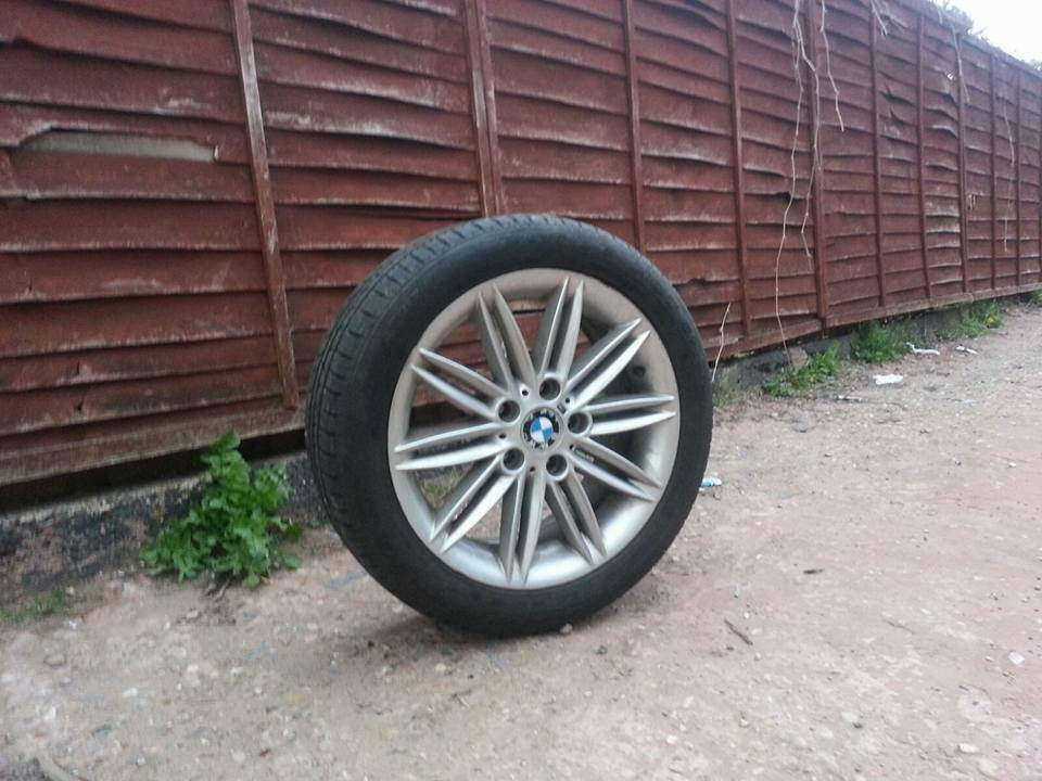 17 Inch Bmw 1 Series M Sport Alloy Wheels And Tyres E36