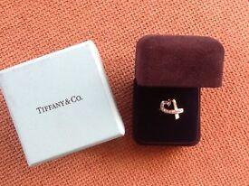 Genuine TIFFANY loving ring