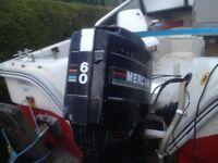 Mercury Outboard Engine 60HP 2 Stroke Long Shaft