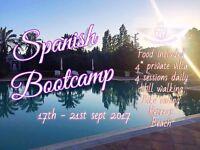 Parafit Spanish Bootcamp Holiday