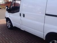 FORD TRANSIT S/W/B 2008 ON A 08 PLATE